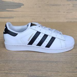 Adidas Superstar White/Black Sneakers Art C77154